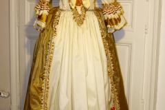Robe à la Française Rayée