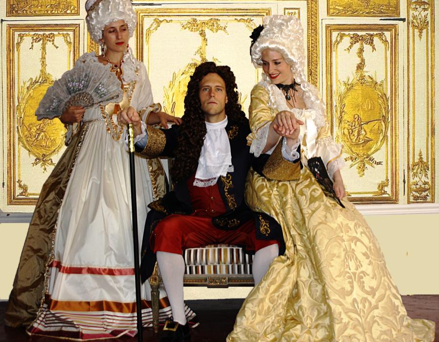 Théâtre Participatif - Banquet Louis XIV - Le Roi & ses Femmes
