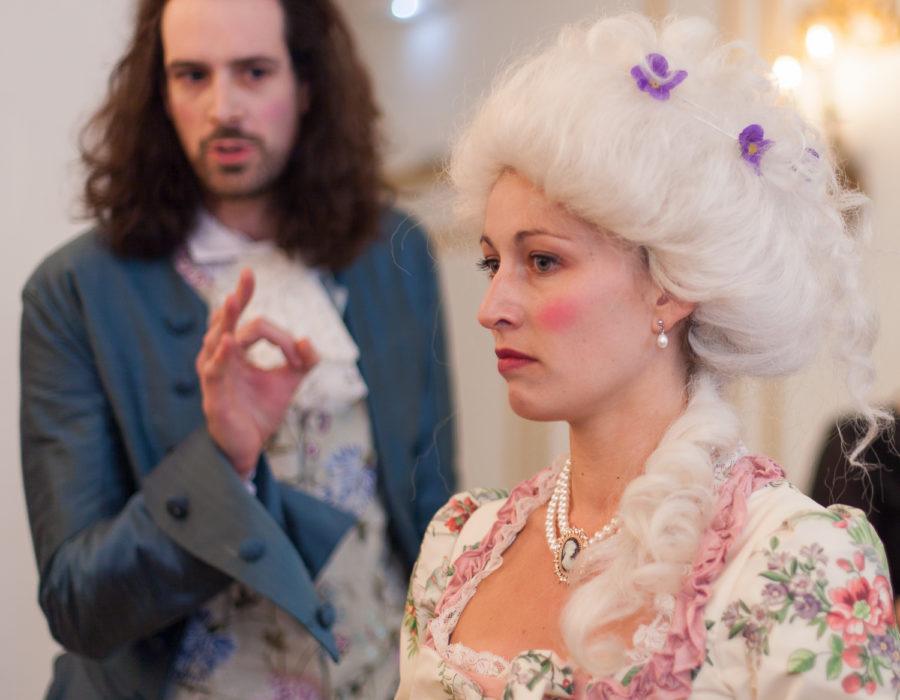 Théâtre à la Table - Scandales à la cour du Roi Soleil - Leçon de vie
