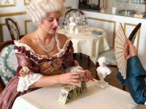 Avant gout visuel de notre cabaret baroque - Diner des Comtesses