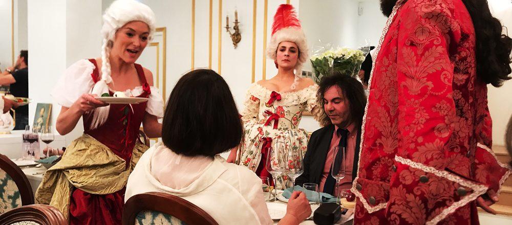 Réservations - Cabaret Baroque - Dîner gastronomique & Théâtral