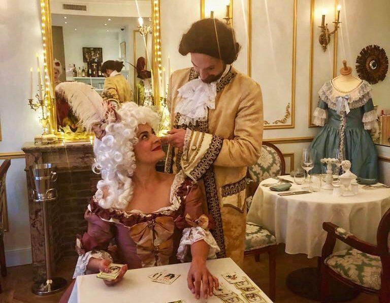 Théâtre à la Table - Louis XV & ses liaisons dangeruses - Jeu de séduction