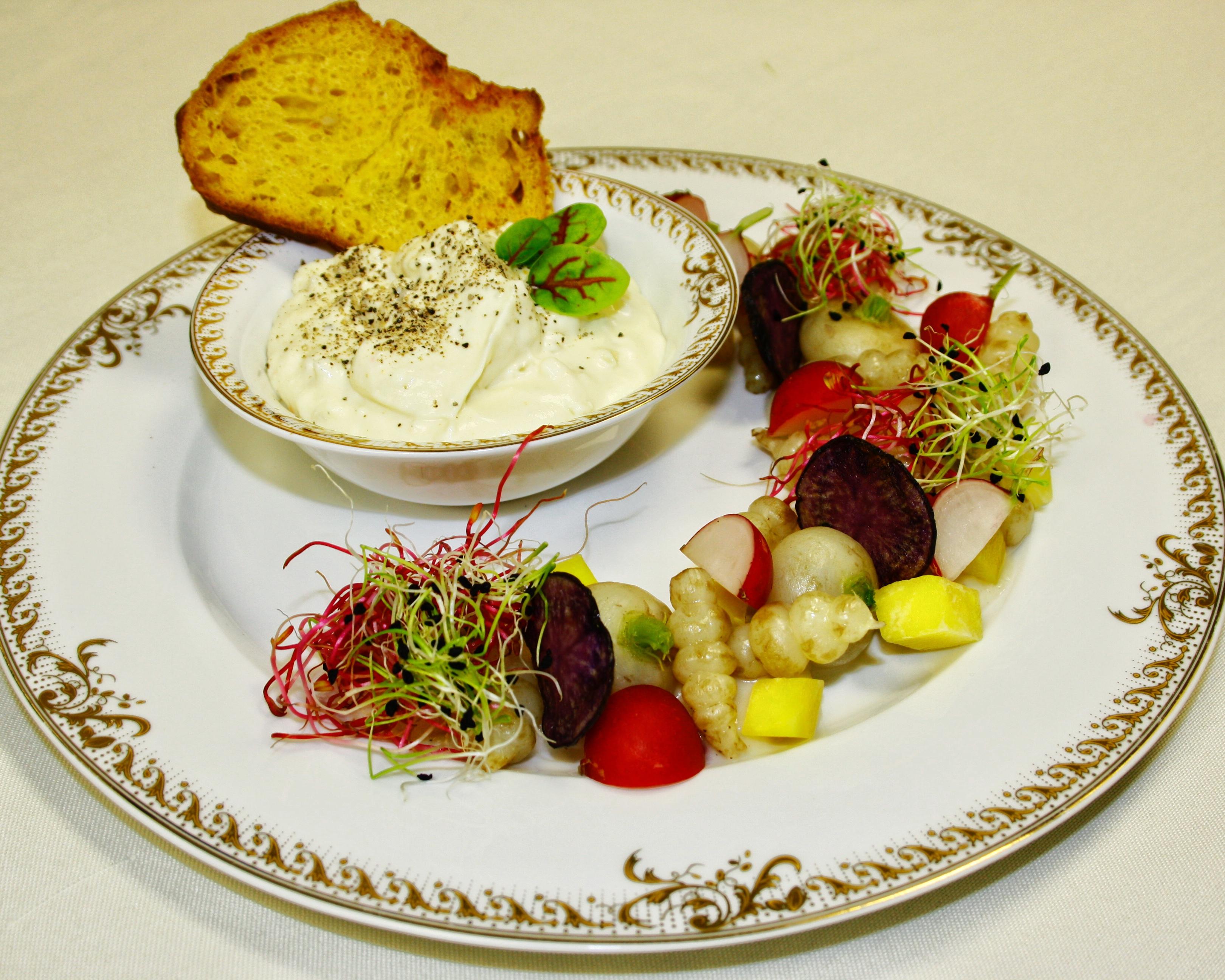 Menus gastronomiques aux recettes d'époque - Blanquette de légumes anciens