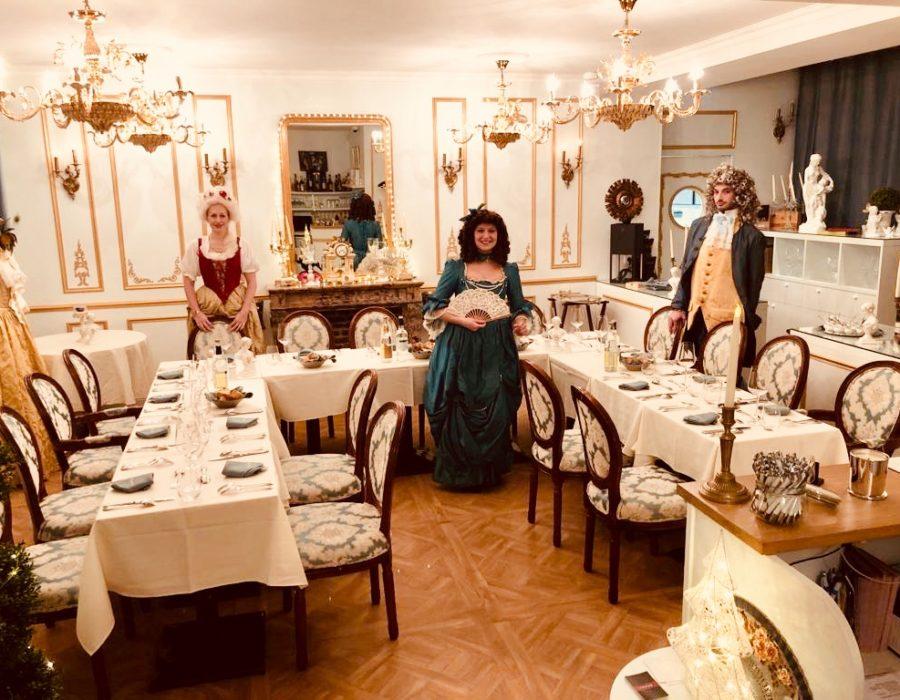 Photographies Dîner gastronomique & théâtral à Versailles