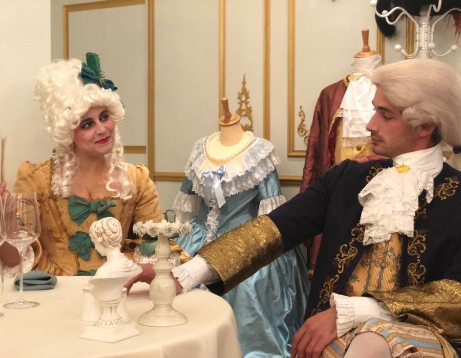 Théâtre à la Table - Marie Antoinette ou les femmes à la Cour - Confrontation d'idées