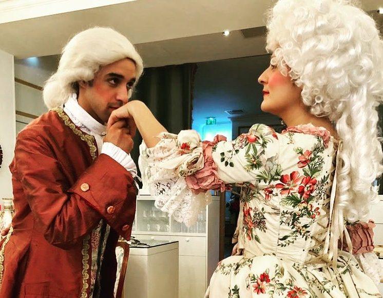 Théâtre à la Table - Louis XV & ses liaisons dangereuses - Le Baise Main