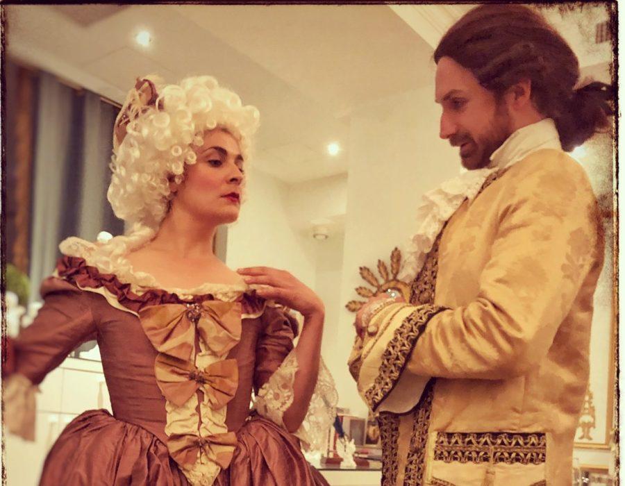 Théâtre à la Table - Louis XV & ses liaisons dangereuses - L'enjoleur