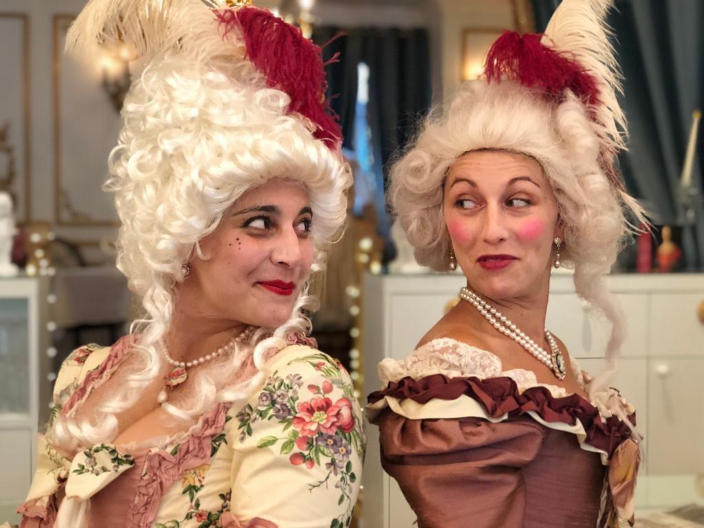 Photographies Théâtre à la Table - Marie Antoinette ou les femmes à la Cour - Ma Nouvelle Amie