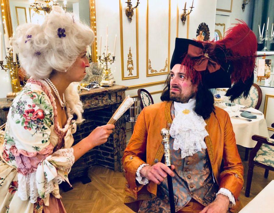 Théâtre à la Table - Marie Antoinette ou les femmes à la Cour - Rage