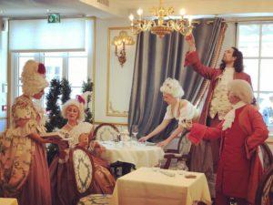 vidéos Photographies ReminiSens Restaurant Théâtre - Cabaret Baroque - Pose pour le peintre