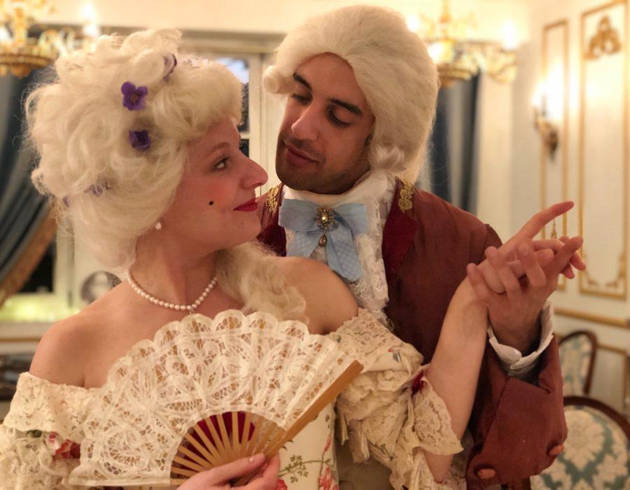 Photographies Théâtre de Salon - Saint Valentin - Faire la Cour à une dame