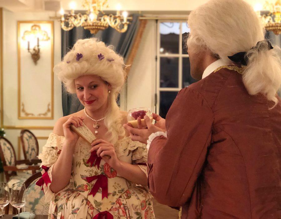 Théâtre à la Table - Le Nôtre & les Secrets des Jardins - Galanterie