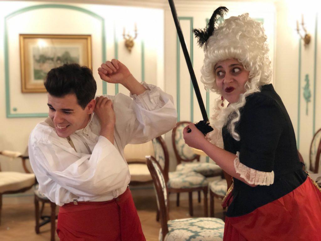 Photographies Théâtre de Salon - Mois Molière - Coup de Bâton
