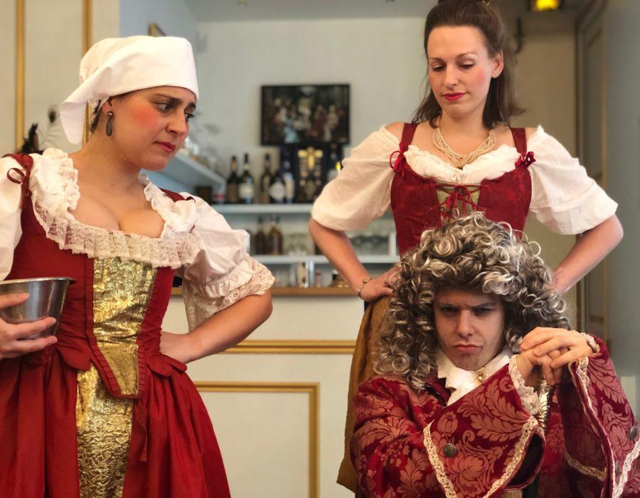 Photographies Théâtre de Salon - Mois Molière - Jeu de valets