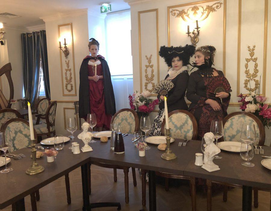 Théâtre Participatif - Banquet Marie Stuart - Banquet du 16e siècle