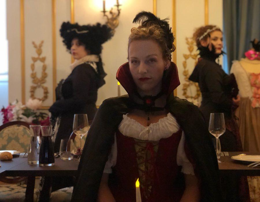 Théâtre Participatif - Banquet Marie Stuart - Confrontation