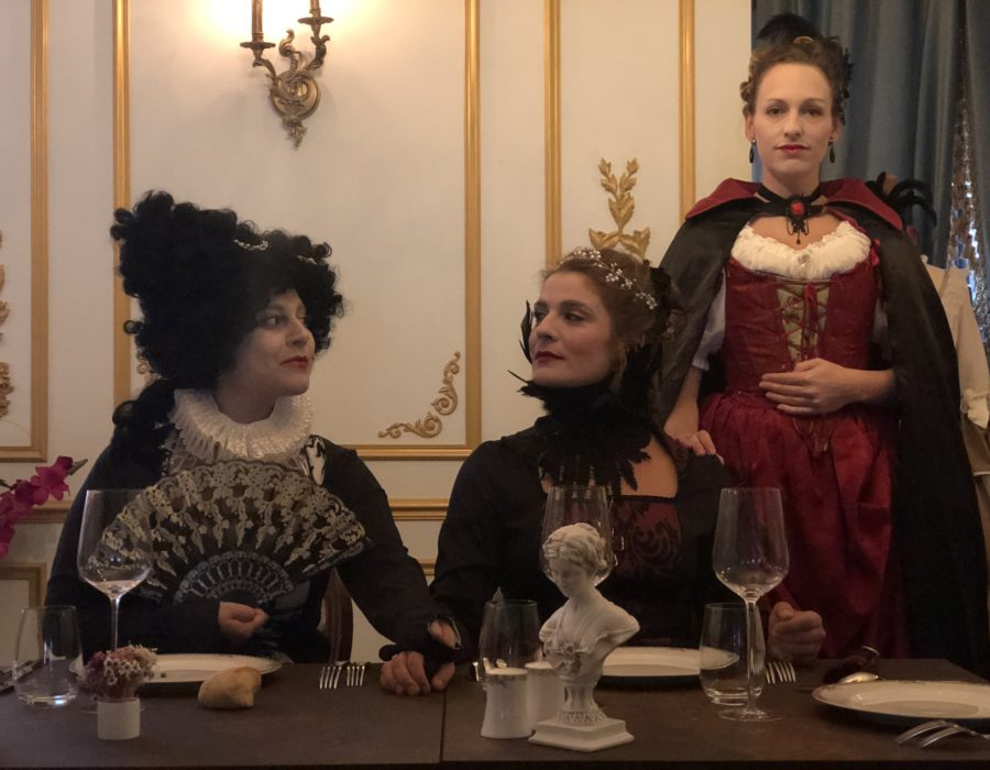 Théâtre Participatif - Banquet Marie Stuart - A table avec nos 2 Reines