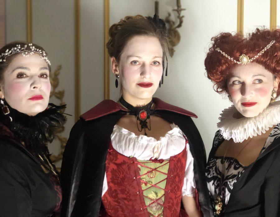 Théâtre Participatif - Banquet Marie Stuart - 2 Maries & 1 Elizabeth