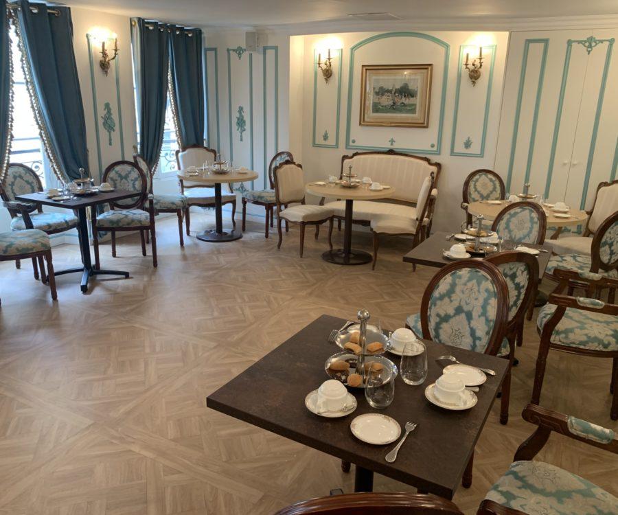 Entreprises & Groupes - Salon 1er étage - Gouter conférence avec l'Office de Tourisme de Versailles