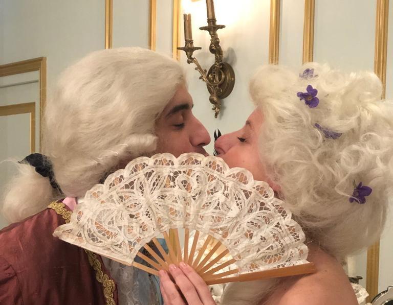Théâtre à la Table - Le Nôtre & les Secrets des Jardins - le baiser