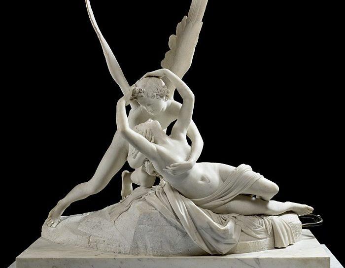 Théâtre de Salon - Saint Valentin - Statue Ange et Amour