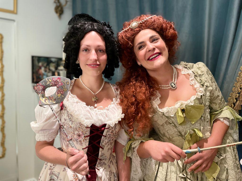 Soirée Bal Masqué en préparation avec Dorine